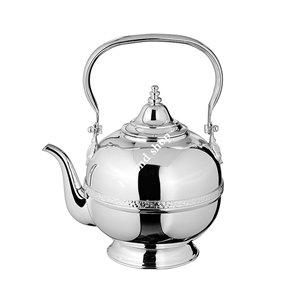 Gümüş Kaplama Çaydanlık