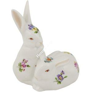 Çift Tavşanlar Biblo