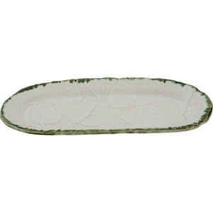 40x19 cm Stoneware Oval Servis