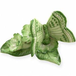 Dekoratif Porselen Kelebekli Çiçek