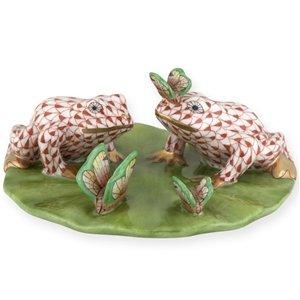 Çift Kurbağalar Biblo