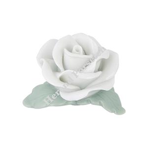 Dekoratif Porselen Beyaz Gül