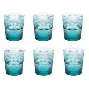 6 lı Su / Meşrubat Bardağı (Turkuaz)