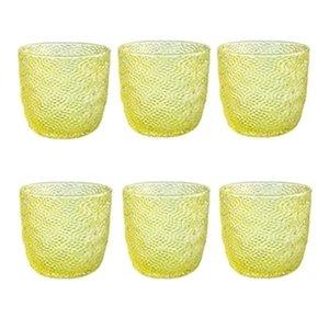 6 lı Su / Meşrubat Bardağı (Sarı)