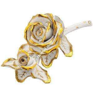 Dekoratif Porselen Çift Gül