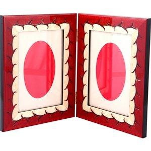 Drusilla  Rosso Doppia 10x15 Çerçeve