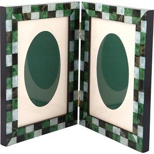 Mosaico Verdone Doppia 10x15 Çerçeve