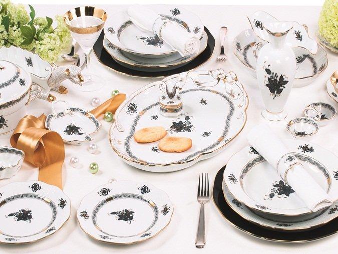 Herend Porselen'den evliliğe hazırlananlara özel bir hizmet: EVLİLİK LİSTESİ.