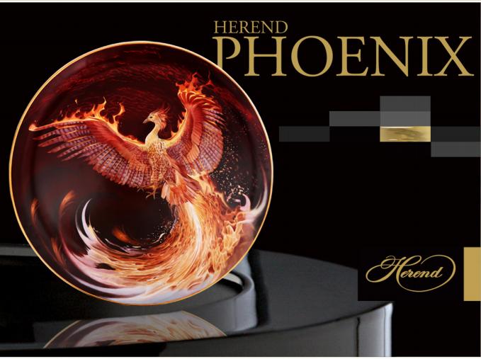 Herend Anka Kuşu / Phoenix Koleksiyonu