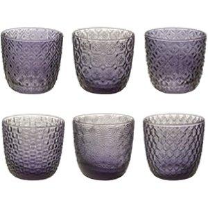 6 lı Su / Meşrubat Bardağı (İndigo Mavisi)