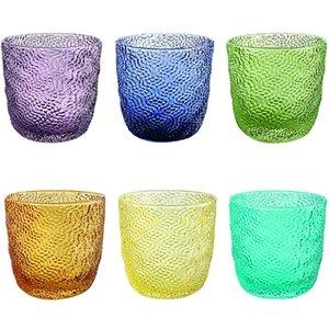 6 lı Su / Meşrubat Bardağı (Renkli)