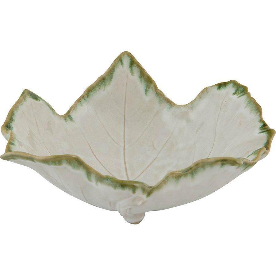 21x9 cm Stoneware Ayaklı Servis Kasesi