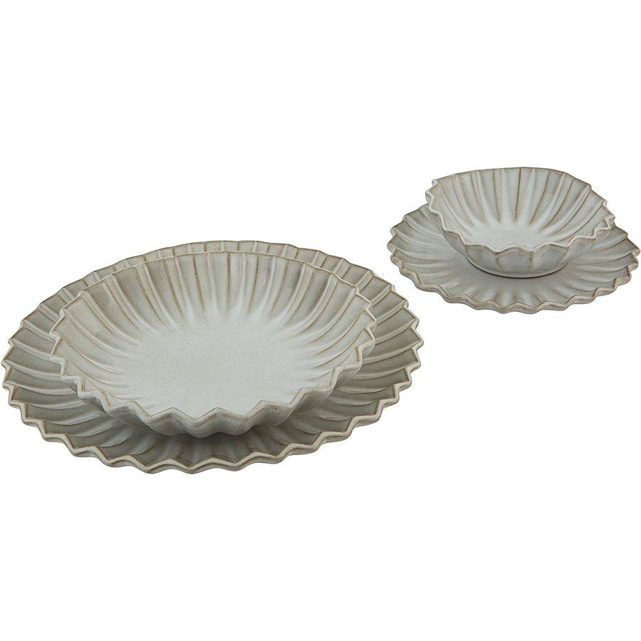 85 Parça Stoneware Yemek Takımı