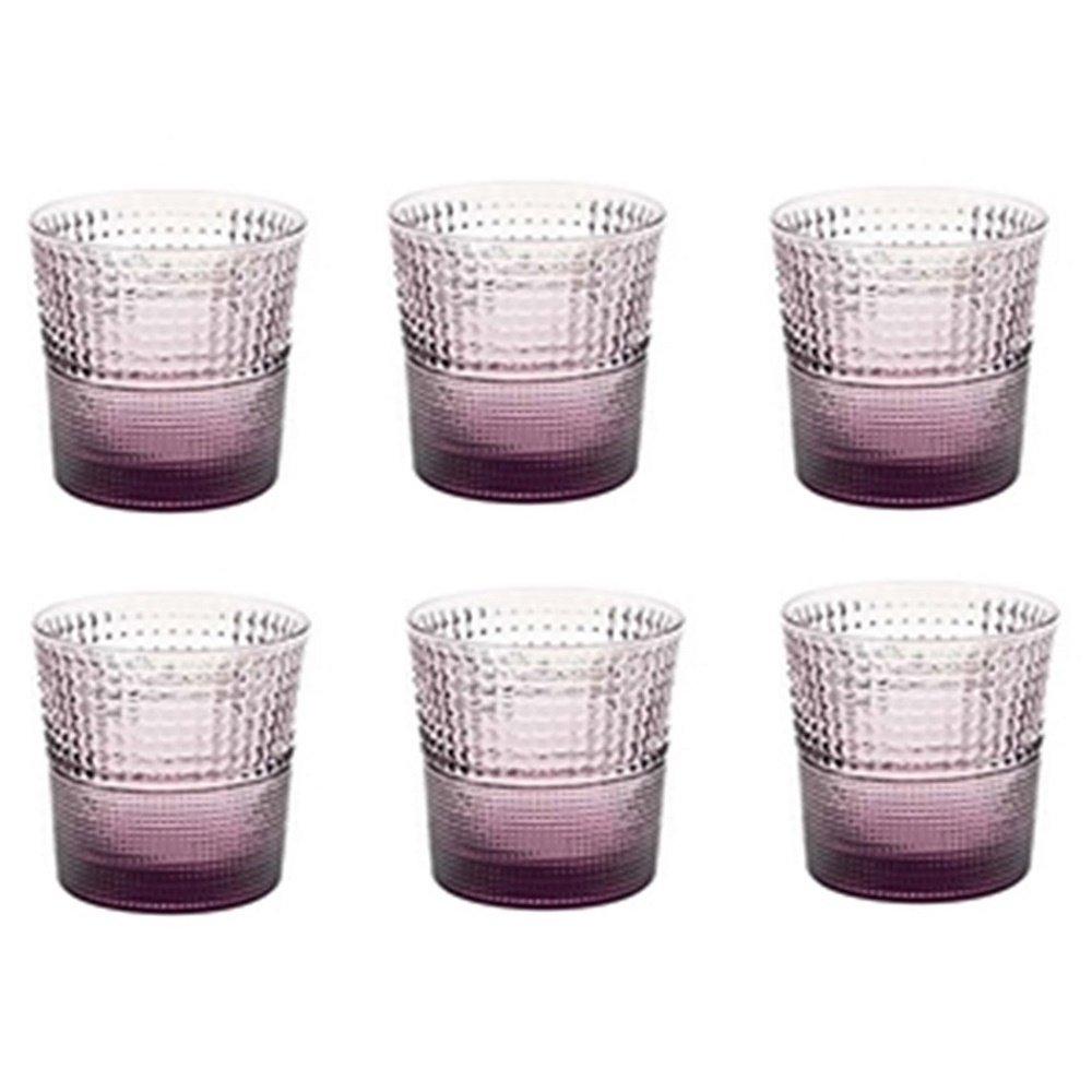 6 lı Su / Meşrubat Bardağı (Mor)
